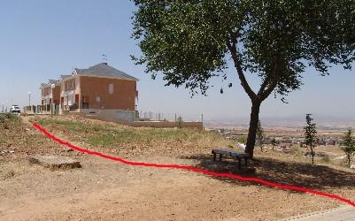 The endless prairie is today the urbanizacion el coto for El coto del casar