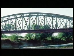 german soldiers running on the bridge
